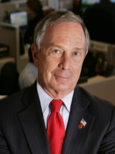 Billionaires by State - An image of Michael Bloomberg