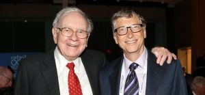 Billionaires by State - An image of Warren Buffet and Bill Gates
