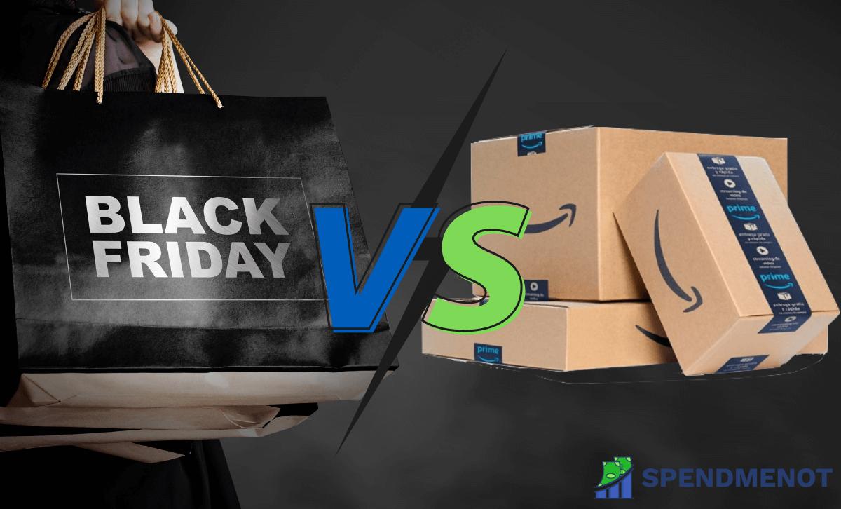 45+ Black Friday vs. Amazon Prime Day Statistics