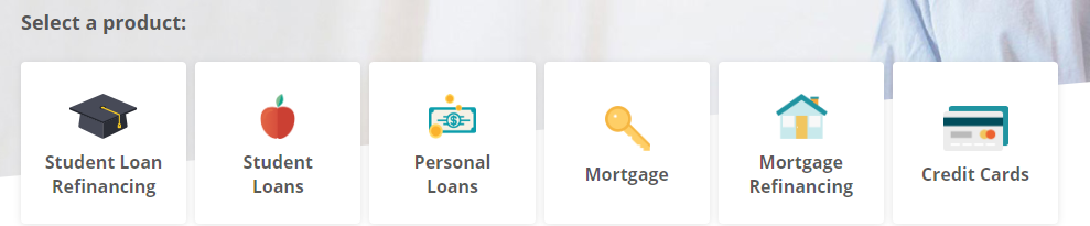 Credible Loan Reviews - Select a Product
