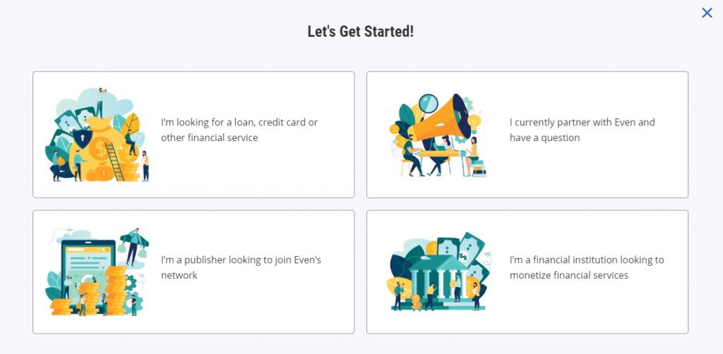 Even Financial Reviews - Get Started