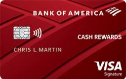 Bank of America Cash Rewards Credit Card - Illustration