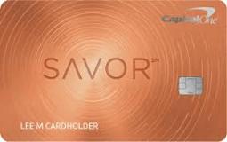 SavorOne® Rewards from Capital One®